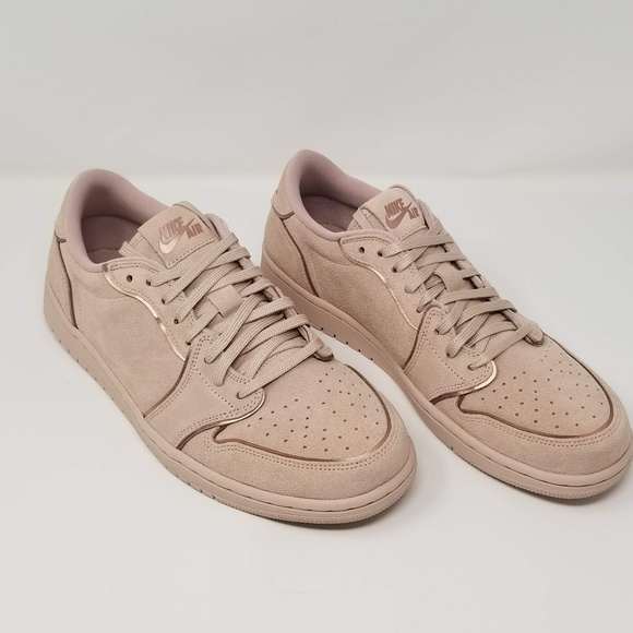 91ac448299b Nike Shoes | Womens Air Jordan 1 Retro Low Ns Red Bronze Sneake ...